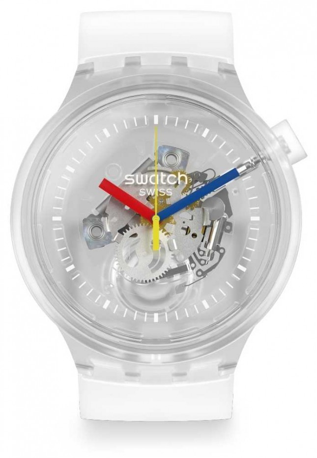 Swatch | Big Bold Jellyfish | Transparent | Silicone SO27E100