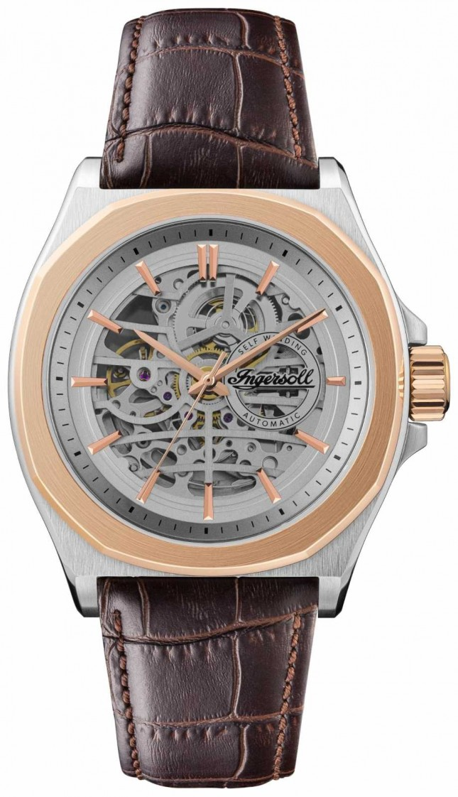Ingersoll Men's 1892 The Orville   Automatic   Brown Leather Strap I09301B