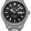 Rotary Men's Henley Automatic | Titanium Bracelet | Black Dial | GB05249/04