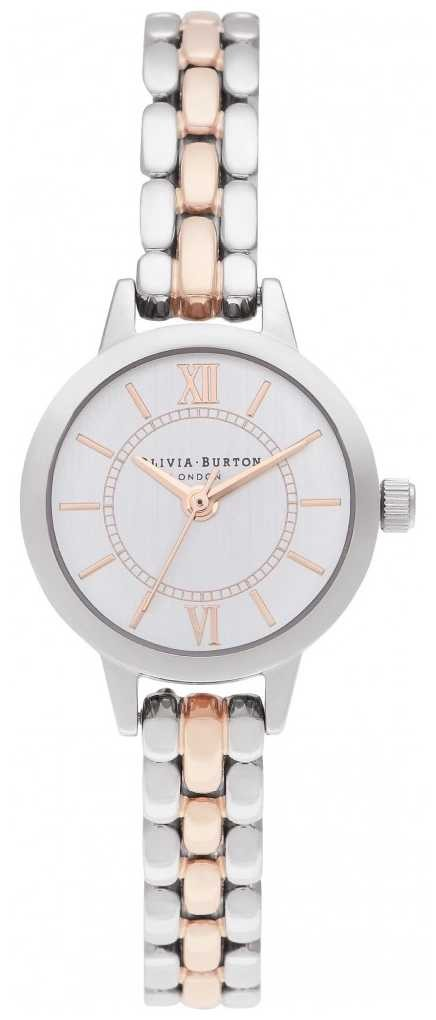 Olivia Burton | Wonderland Silver And Rose Gold | Two Tone Bracelet OB16MC50
