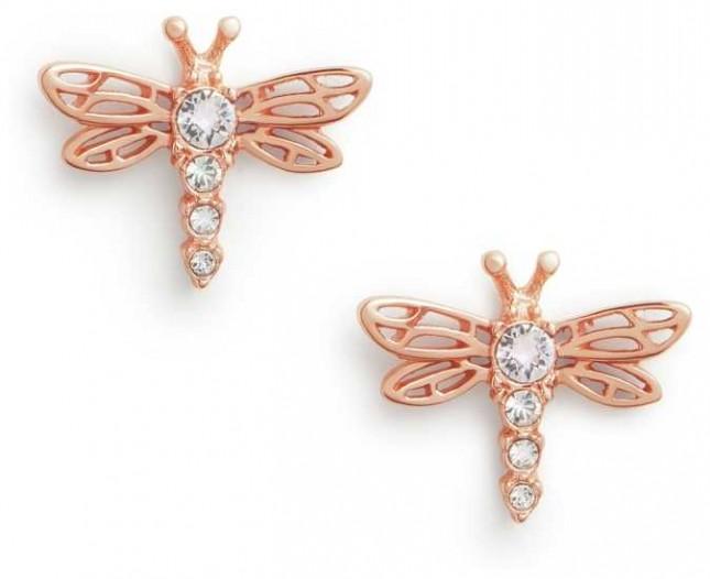 Olivia Burton | Dancing Dragonfly | Rose Gold | Stud Earrings | OBJAME146
