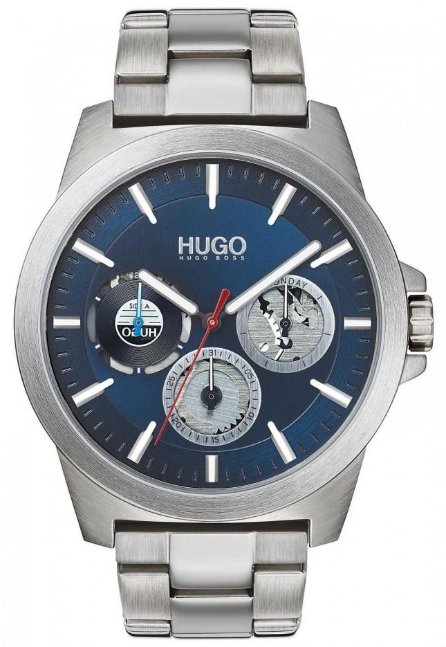 HUGO #TWIST | Stainless Steel Bracelet | Blue Dial 1530131