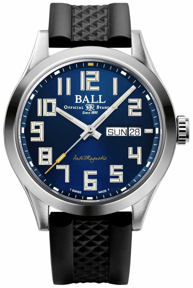 Ball Watch Company Engineer III StarLight | Black Rubber Strap | Blue Dial | NM2182C-P12-BE1