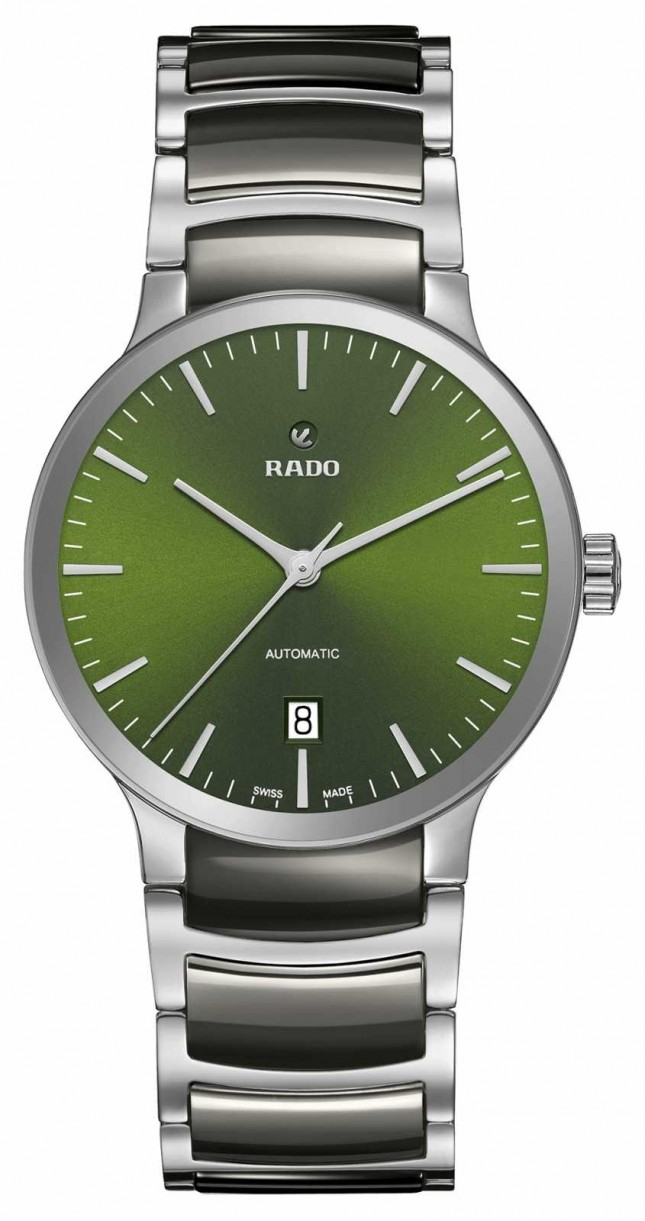 RADO Centrix Automatic High-Tech Ceramic Green Dial R30010312