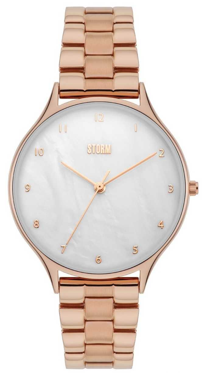 STORM | Alana Rose Gold Watch | White Dial 47420/RG