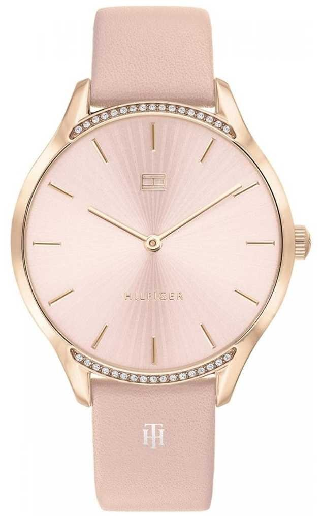 Tommy Hilfiger Gray | Pink Leather Strap | Blush Dial | 1782215