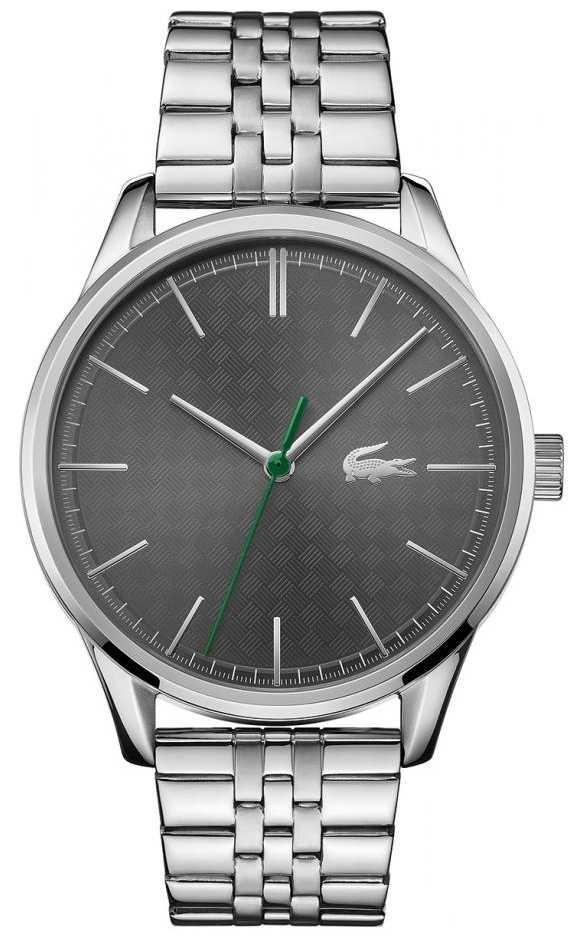 Lacoste Men's Vienna   Stainless Steel Bracelet   Grey Dial 2011073