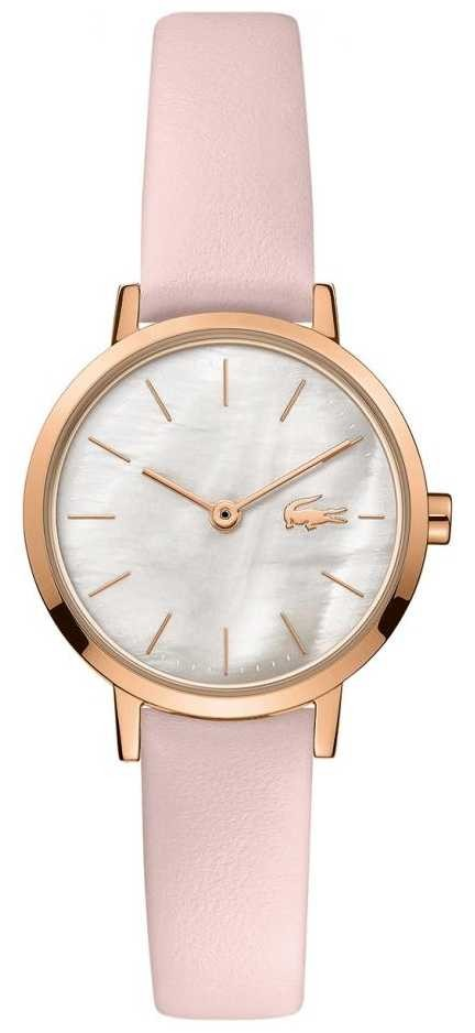Lacoste Women's Moon | Leather Strap | Mother Of Pearl Dial 2001120