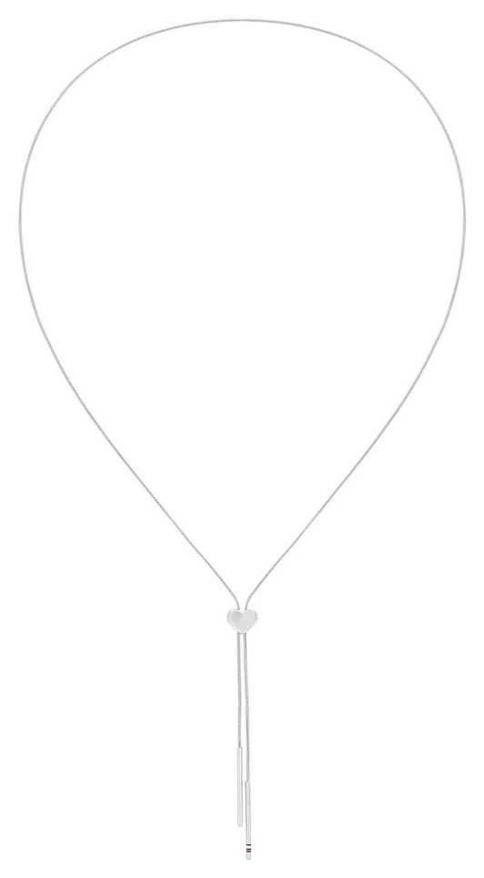Tommy Hilfiger   Dressed Up   Women's Ladies Heart Stainless Steel Necklace 2780290
