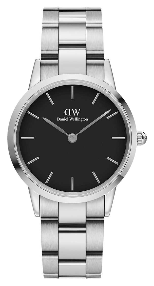 Daniel Wellington Iconic Link 32mm Stainless Steel Black Dial DW00100206