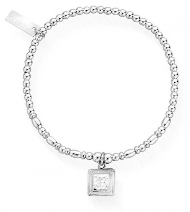 ChloBo Sacred Sound Bracelet   Sterling Silver SBCR3022