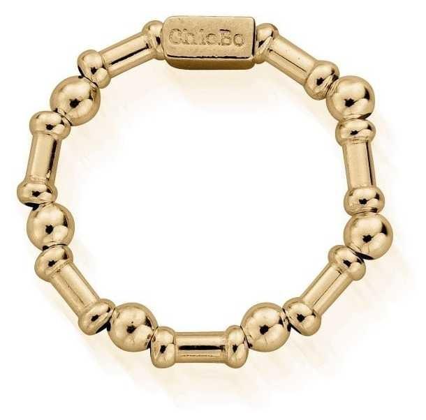 ChloBo Rhythm Of Water   Gold Ring   Medium GR2RHYTHM