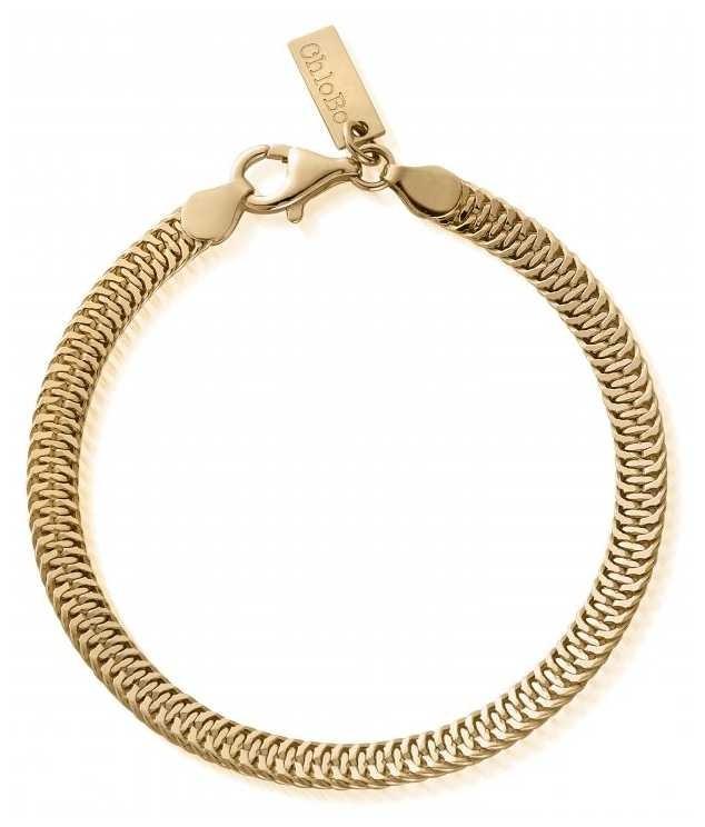 ChloBo The Tide Bracelet   Gold Chain Bracelet GBTIDE
