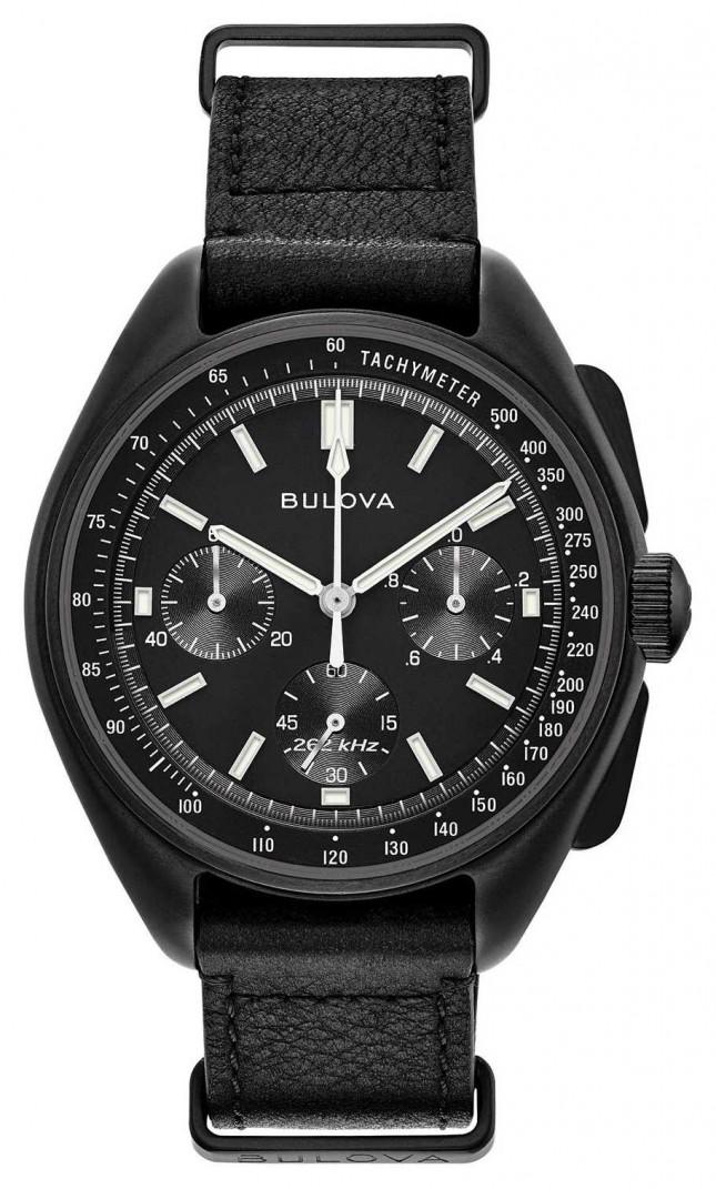 Bulova Mens Special Edition Lunar Pilot Chronograph 98A186