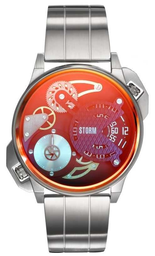 STORM Dualmation Lazer Red Stainless Steel 47410/R