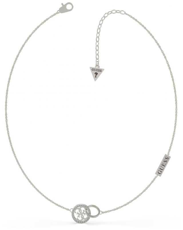 Guess Equilibre | Stainless Steel Silver Pendant Necklace UBN79045
