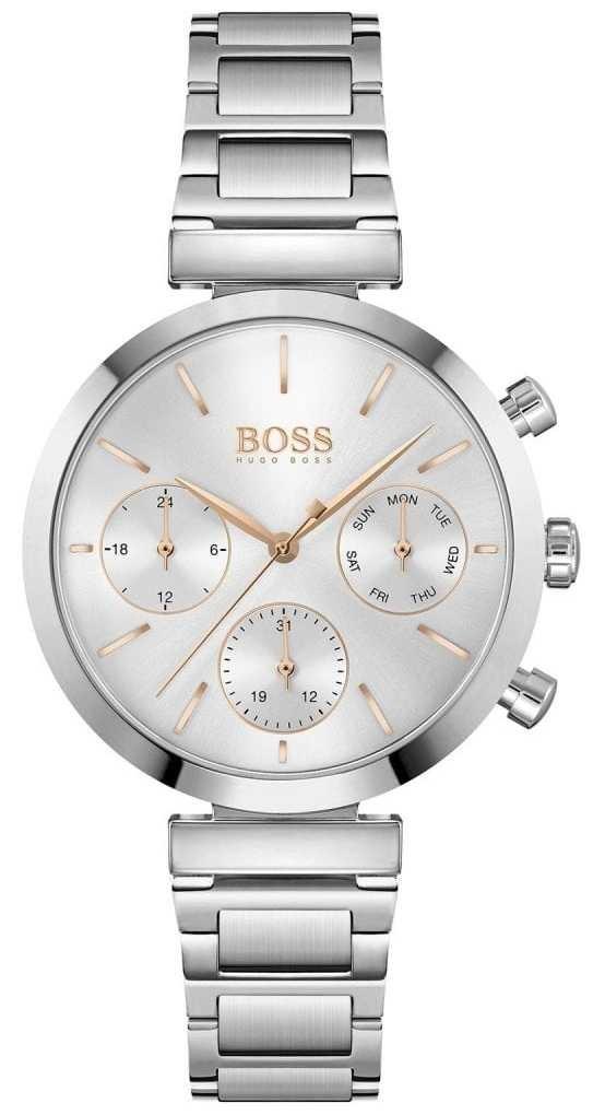 BOSS Flawless | Women's Stainless Steel Bracelet | Silver Dial 1502530
