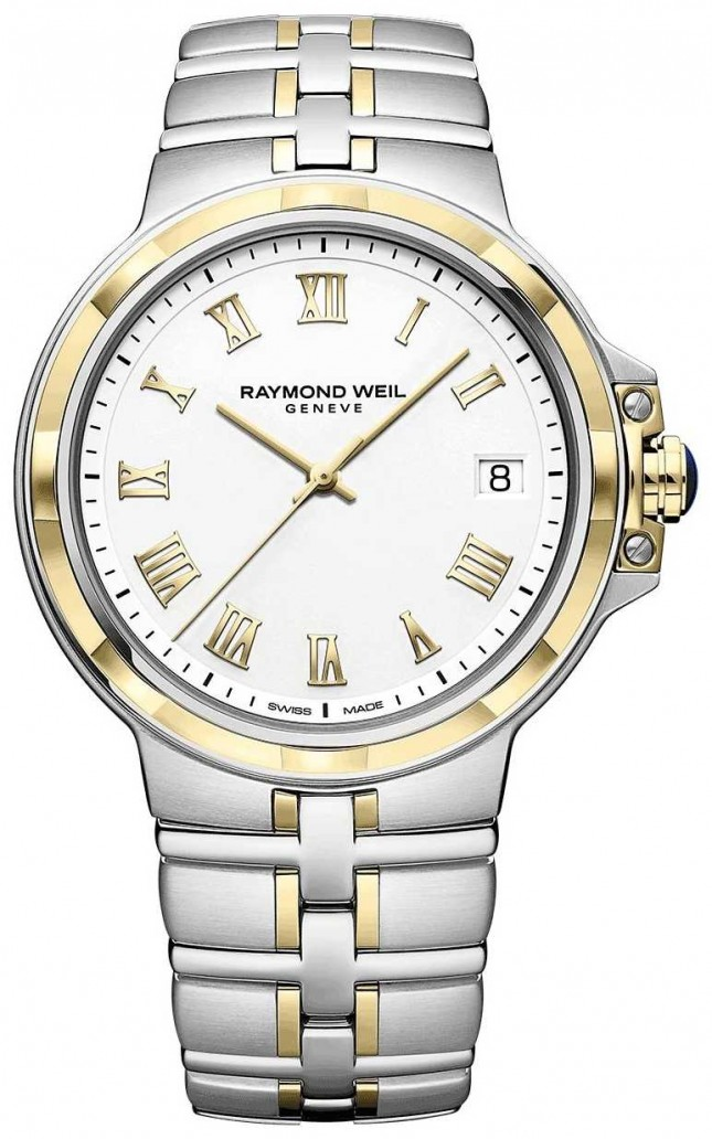 Raymond Weil Parsifal Two-Tone   Gold And Stainless Steel   Mens Watch 5580-STP-00308