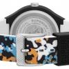 Superdry MATT BLACK DIAL | MULTI-COLOURED CAMO STRAP | SYG295BU