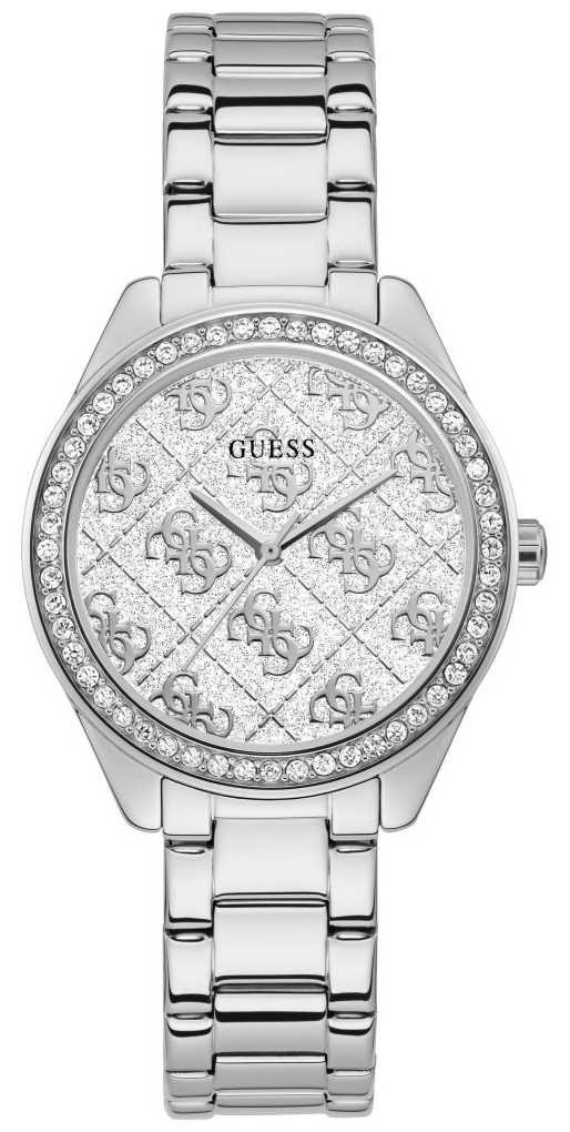 Guess | Women's Sugar | Stainless Steel Bracelet | White Dial | GW0001L1