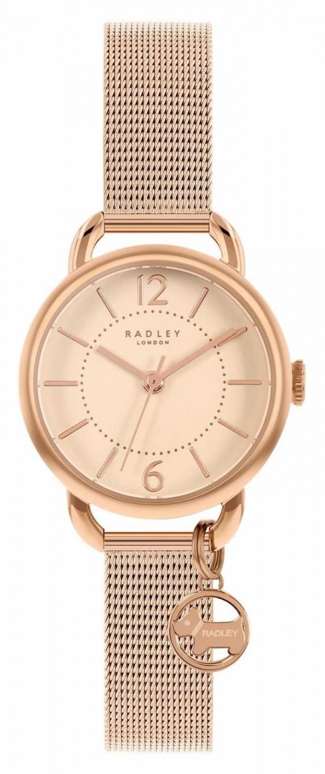 Radley   Women's Rose Gold Mesh Bracelet   Rose Gold Dial   RY4528
