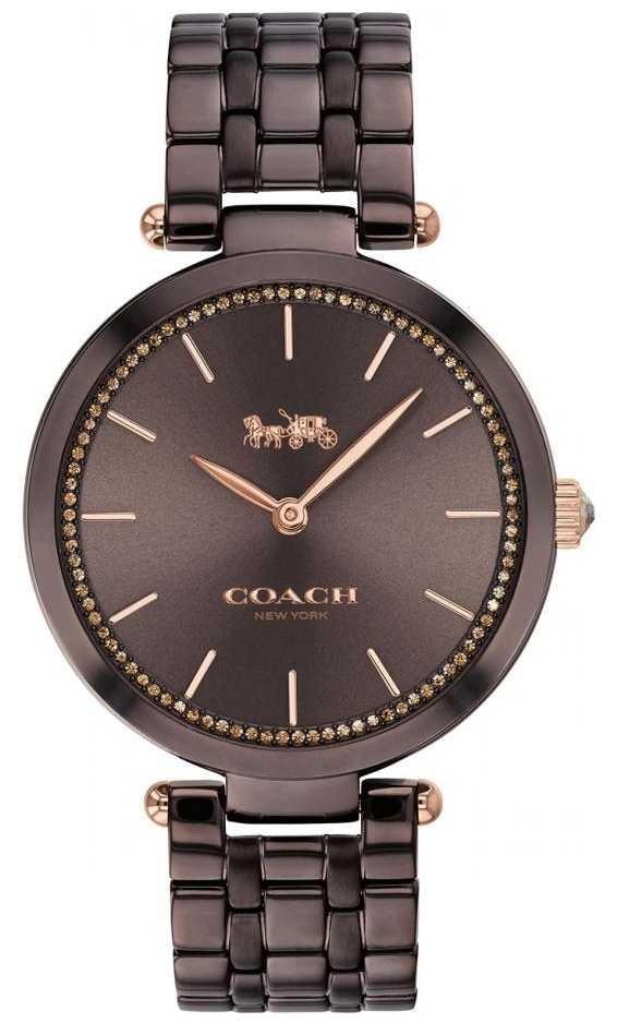 Coach | Women's Park | Black/Brown Steel Bracelet | Brown Dial 14503507