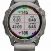 Garmin Fenix 6X Pro Solar | Titanium Bracelet and Orange Strap 010-02157-24