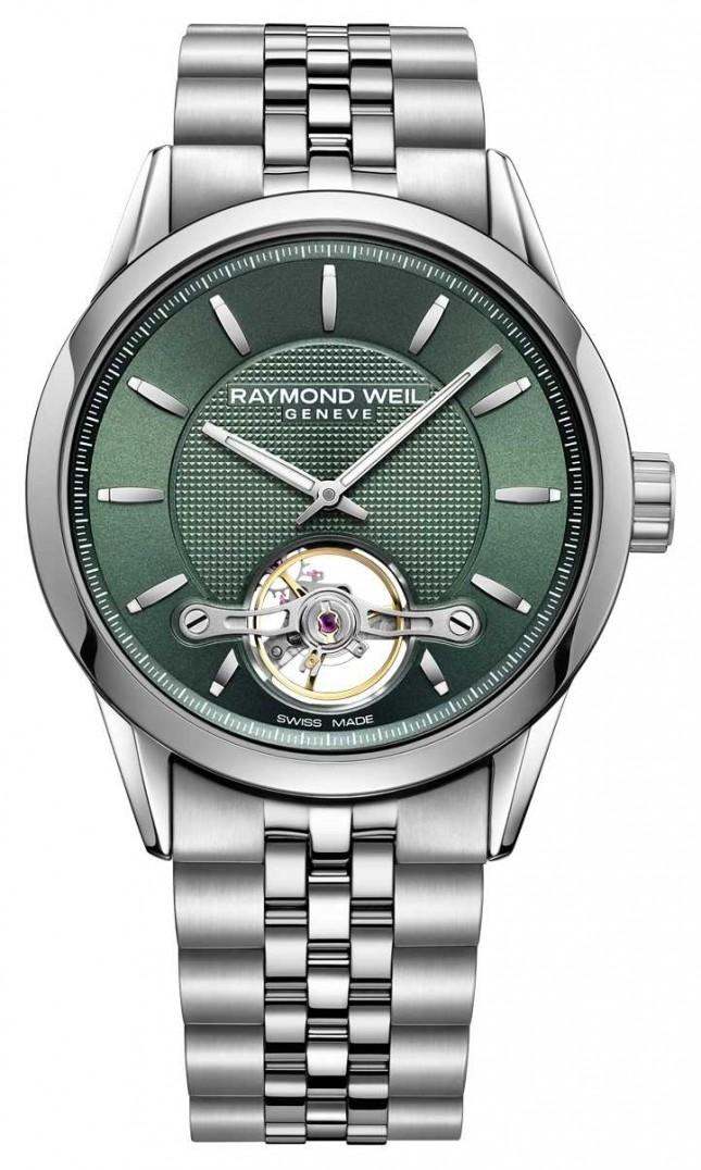Raymond Weil Men's | Freelancer | automatic | Green Dial | 2780-ST-52001