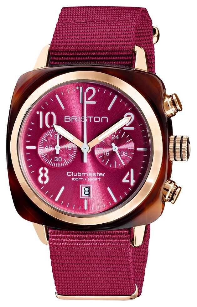 Briston Clubmaster Classic   Chronograph   19140.PRA.T.28.NBER