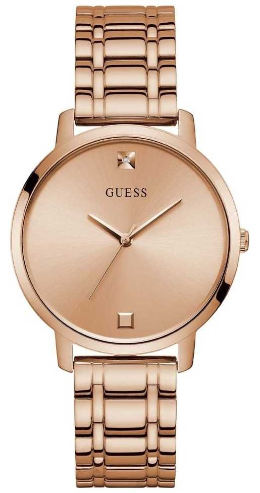 Guess | Women's Nova | Rose-Gold Steel Bracelet | Rose Dial | W1313L3