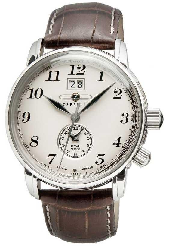 Zeppelin Graf Zeppelin Men's Watch Brown Quartz 7644-5