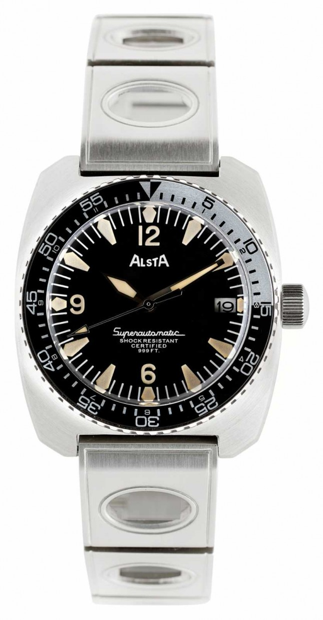 Alsta Nautoscaph Superautomatic 1970 Re-Edition Metal Bracelet SUPERAUTOMATIC-BRACELET