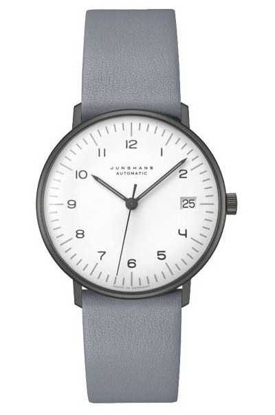 Junghans Max Bill Automatic Sapphire Glass | 38mm Black & White 027/4007.02