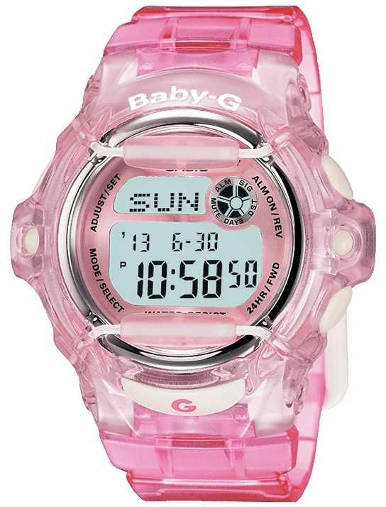 Casio Baby G Pink Strap Digital Display BG-169R-4ER