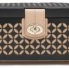 WOLF Chloe Black Small Jewellery Box 301102