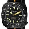 Briston Clubmaster Diver Pro | Black/Yellow NATO Strap | Black Dial 20644.PBAM.B.34.NBY