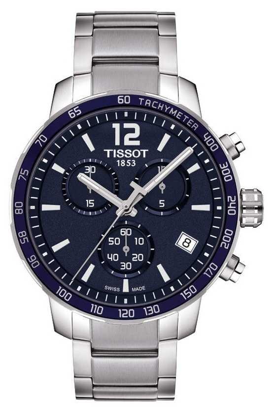 Tissot Quickster Blue Dial Chronograph T0954171104700