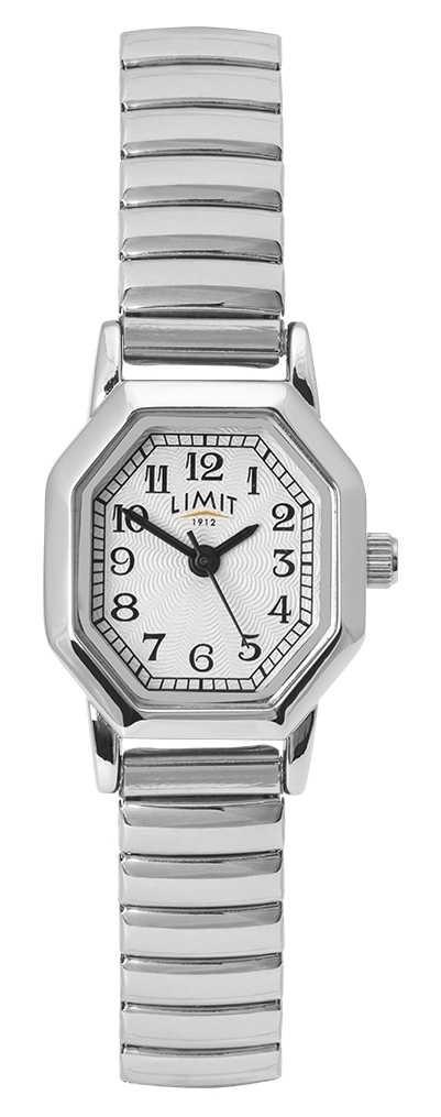 Limit Women's Stainless Steel Bracelet   White/Silver Dial 60122.38