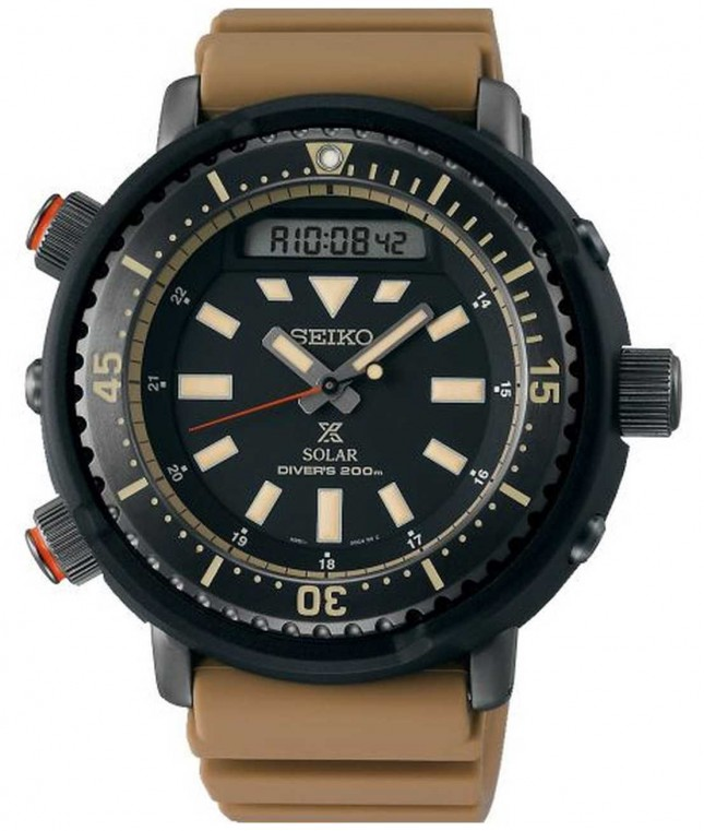 Seiko Prospex Arnie Re-Issue Safari Solar Diver's SNJ029P1