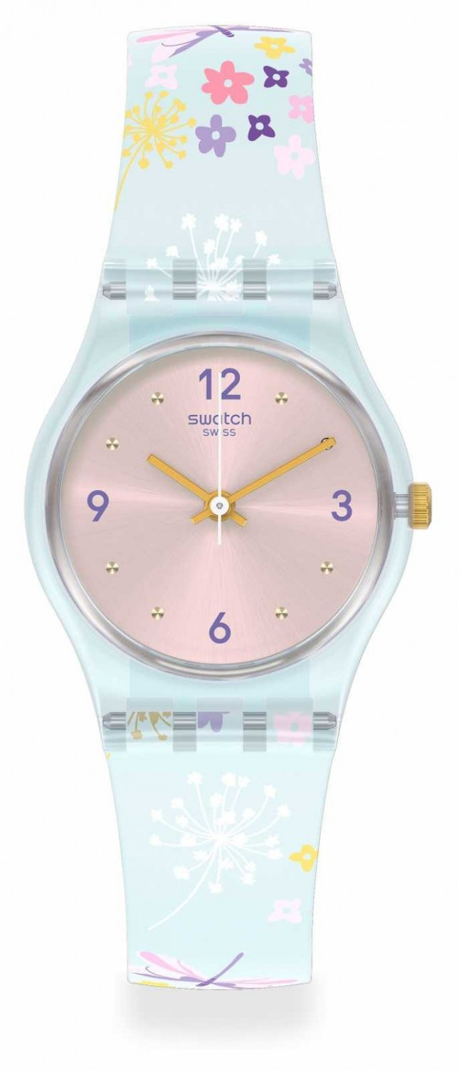 Swatch ENCHANTED MEADOW | Lovely Garden | Silicone Strap LL124