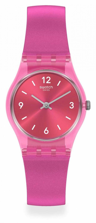 Swatch FAIRY CHERRY | | Essentials | Pink Silicone Strap LP158
