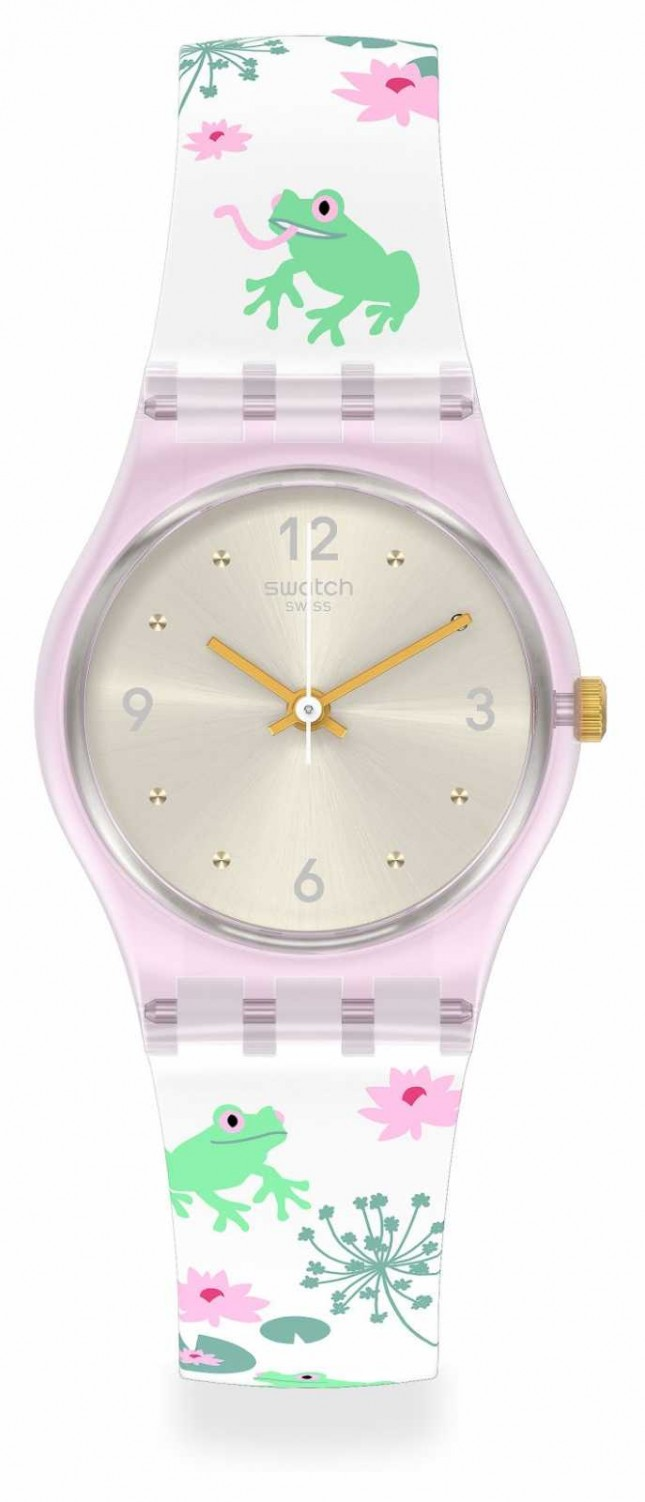 Swatch Enchanted Pond | Multi-coloured | Silicone Strap LP160