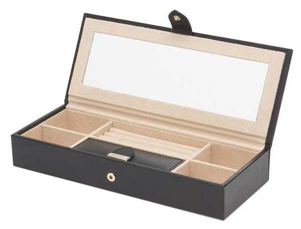 WOLF Marrakesh Black Safe Deposit Box 308402