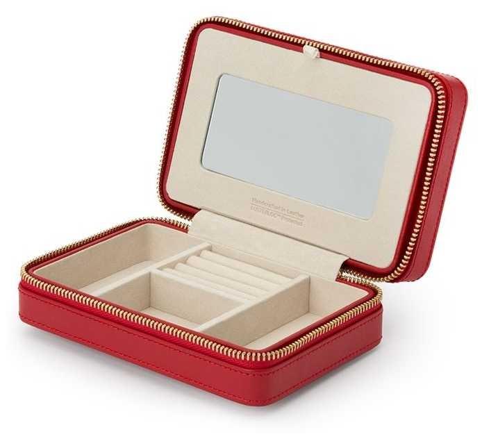 WOLF Palermo Red Zip Case 213672