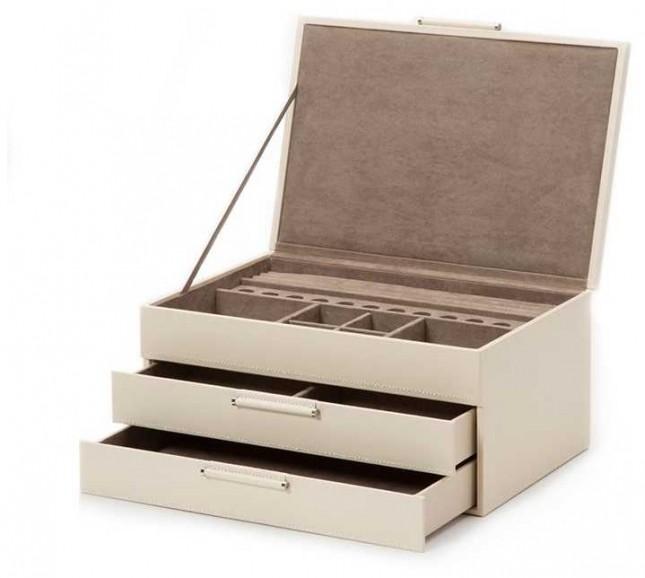 WOLF Sophia Ivory Jewellery Box 392053