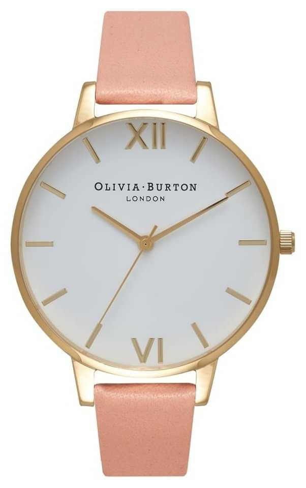 Olivia Burton White Dial Dusty Pink & Gold Watch OB16BDW13