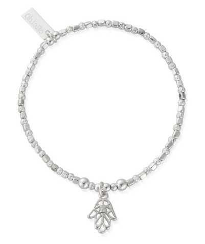 ChloBo Hand Of Protection   Sterling Silver   Bracelet SBPROMO20