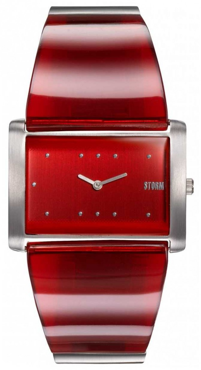 STORM Trexa Red | Red/Silver Stainless Steel Bracelet | Red Dial 47473/R