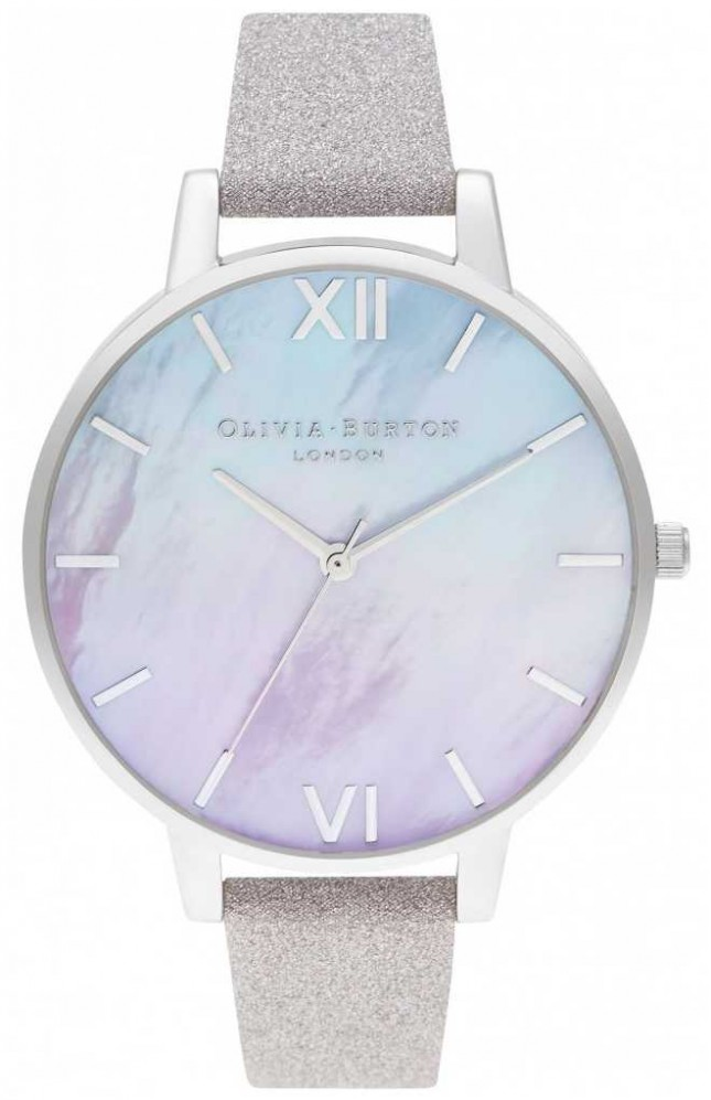 Olivia Burton Ombre Mother Of Pearl Dial Watch Set OBGSET143