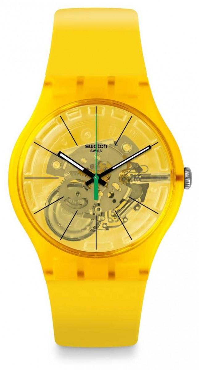 Swatch | New Gent | Bio Lemon Watch | SUOJ108